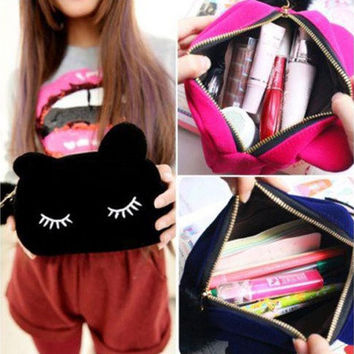 Cosmetic Pouch Beauty Travel Cosmetic Pouch Girl Fashion Multifunction Cute Bag [10198252743]