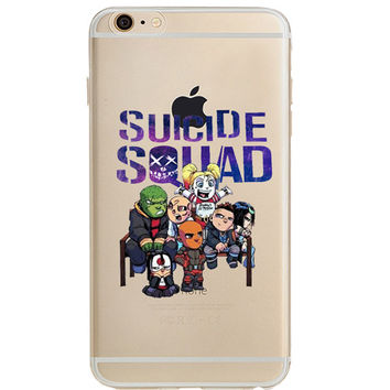 Suicide Squad Jelly Clear Case for Apple iPhone 7