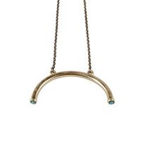 Half Turn Pendant Necklace (view more colors)