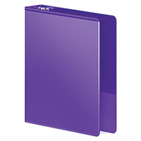 Wilson Jones Heavy Duty View Binder 1 Round Ring 75percent Recycled Purple by Office Depot