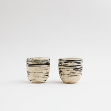 Marbled Tumblers - Set of 2