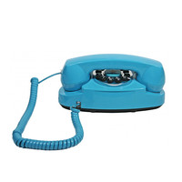Turquoise '50s Cord Phone