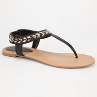 City Classified Cooper Womens Sandals Black  In Sizes