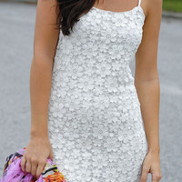 Know Your Heart Dress: White Lace