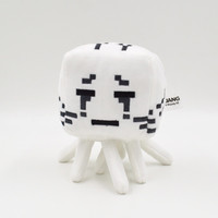 Minecraft Ghast Plush Toys Cute Plush Doll Cartoon Game Soft Cotton Stuffed Animals Spider Wolf Ghost Toys Children Birthday Halloween Gift