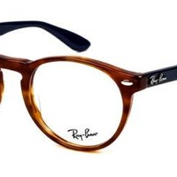 Glasses vista Ray-Ban RX5283 5609 YELLOW TORTOISE Cal.49