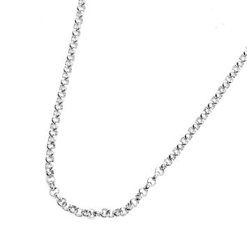 ON SALE - 22 inch Mini Belcher Link Stainless Steel Necklace Chain