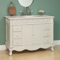 "49"" Savino Creamy White Vanity - Bathroom Vanities - Bathroom"