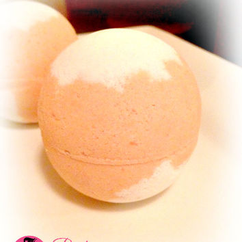 Mangoberry Sorbet Bath Bomb Fizzy Body Treats Home Spa Bath Soak