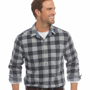 Men's Bradbury Fleece Shirt, Slightly Fitted Buffalo Check | Free Shipping at L.L.Bean