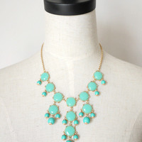 amazinglife — Vintage Bubble Bib Candy Color Necklace
