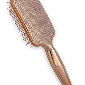 Paddle Hair Brush for Detangling & Styling - Ideal for Blow-Dry, Straighten, Comb All Hair Types - Bling...