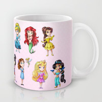 Disney Princesses Mug by clayscence | Society6