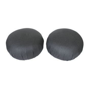 Pre-owned Directional Vladimir Kagan Pouf Ottomans - A Pair