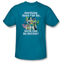 DC Comics Girls Can Do Better Mens T-Shirt