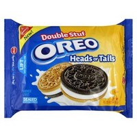 Nabisco Oreo Double Stuf Heads or Tails Sandwich Cookies 15.25 oz