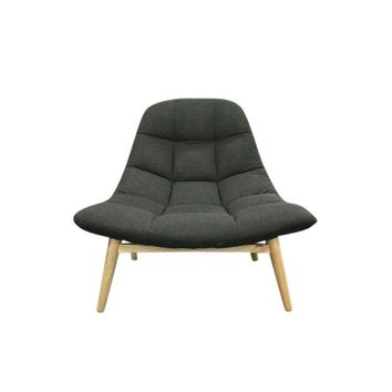 Maja Lounge Chair - Dark Grey | Modern, Mid-Century & Scandinavian | GFURN