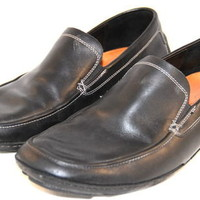 COLE HAAN Nike Air G-Series Driving Loafers Black Mens Size 10.5 M