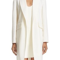 Alexander Wang Oversize Stretch Wool Coat | Nordstrom