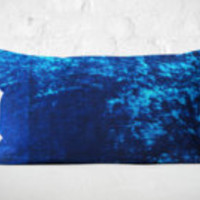 Light Teal Velvet Lumbar Pillow | New Home Owner Gift | Window Seat Pillow | Blue Velvet Lumbar Cushion