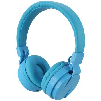 Ilive Bluetooth Wireless Headphones With Microphone (blue)