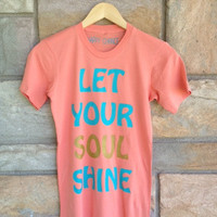 Soul Shine Favorite Crewneck  persimmon by HappyChanceApparel