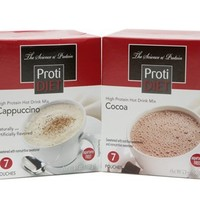 ProtiDiet High Protein Hot Cocoa Drink Mix (7 pouches)