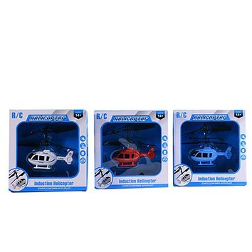 Kids Toys Flying Mini RC Infraed Induction Helicopter Aircraft Flashing Light Toys Induction Toys Funny Toys