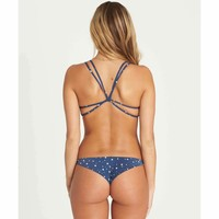 Billabong Women's Always Free Tanga Bikini Bottom | Blue Tide