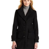 Mac & Jac Women`s Melton Cargo Coat $50.56