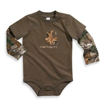 Carhartt® Long Sleeve Bodyshirt with Realtree Xtra® Applique