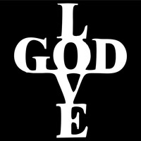 Love God Car Window Ipad Tableet PC Notebook Cumputer Decal Sticker