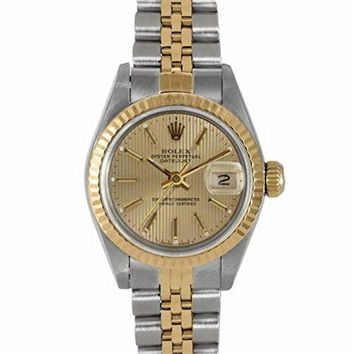 Rolex Datejust Swiss-Automatic Female Watch 6917