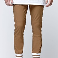 Brixton Grain Chino Pants - Mens Pants - Copper/Rust