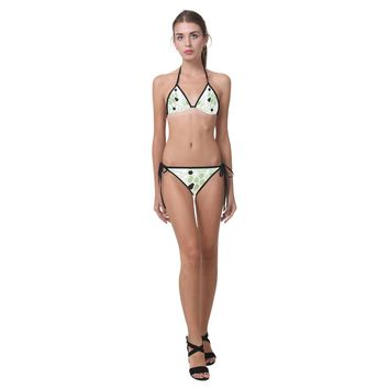 Hex Camo Design 1 Custom Bikini Swimsuit
