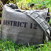 The Hunger Games Inspired  DISTRICT 12  Military by AngelaService