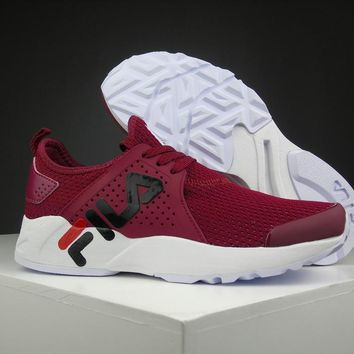Fila 1751 Wine Red Running Shoes Size 36 44.5