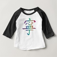 Kid's Rainbow Peace T-Shirt