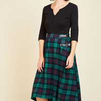 London is for Lovers Skirt in Lake | Mod Retro Vintage Skirts | ModCloth.com