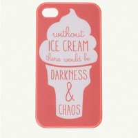 Ice Cream Chaos iPhone 4/4S Case