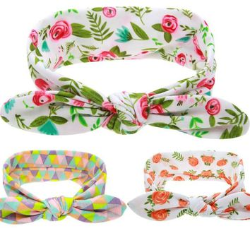 7e421c91e96 Child Headbands Top Knot Headband Knotted head wraps Little girl