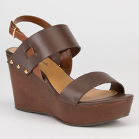 CITY CLASSIFIED Carton Womens Wedges | Shoes