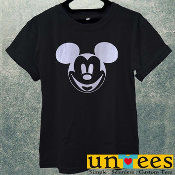 Low Price Men's Adult T-Shirt - Cute Disney Mickey Mouse Face design