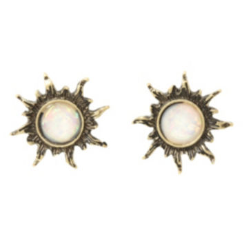 LOVEsick Opal Sun Earrings