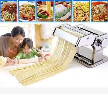 Homdox Home Kitchen Fresh Pasta Noodle Making Machine