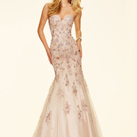 Beaded Sweetheart Paparazzi Prom Dress 98060