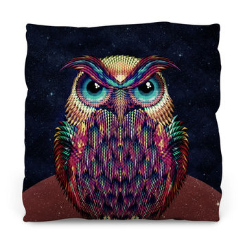 Owl 2 Throw Pillow