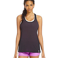 Under Armour Fly-By Stretch Mesh Tank - Black