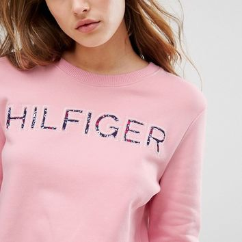 Tommy Hilfiger Logo Sweatshirt at asos.com