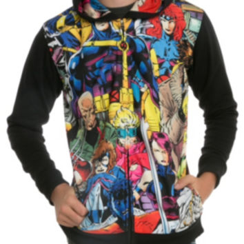 Marvel X-Men Sublimation Zip Hoodie